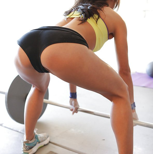 Working Out To Get a Fucking