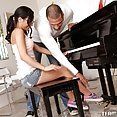 Tia Cyrus Ignores the Piano and Plays Teachers Organ Instead - image