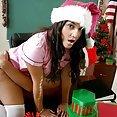 Innocent little schoolgirl bends over for punishment from teacher - image