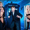 Wild Sci-Fi themed Hardcore Doctor Scene - image