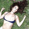 Eva Lovia Sexy Outdoor Nudes - image