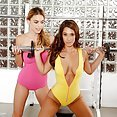 Hot and Sexy Girl On Girl Workout - image