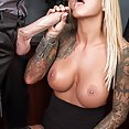 Tattooed Love Doll Britney Shannong Boned At Work - image