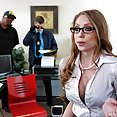 Shawna Lenee Obstructing Justice With Her Tits - image