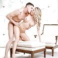 Super hot blonde loves to get licked. - image