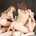 Holly and Madison show their men how easy they are - image
