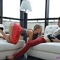 Angelica enjoys some hotel lobby lust - image