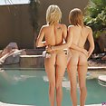 Hose Play with Natasha and Dakota  - image
