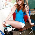 Hot Student Loves The Cock - image