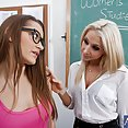 Teacher Gives Lesbian Sex Lessons - image