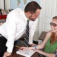 Teacher Bangs Horny Petite Schoolgirl - image