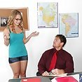 Katie Zane Bangs The Teacher On His Desk - image