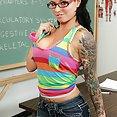 Naughty Schoolgirl Christy Mack - image