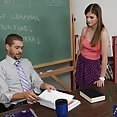 Cute Schoolgirl Lara Brookes Loves Her Teacher - image