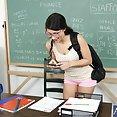 Schoolgirl Scarlet Fucks Her Horny Teacher - image