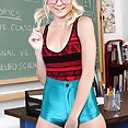 Horny Schoolgirl Chloe Foster Gets Fucked By the Teacher - image
