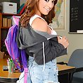 She Fucks The Teacher To Get a Pass - image
