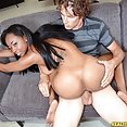 Busty Ebony Hotty Mya Lushes Fucked Good - image