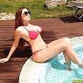 Stunning Marina Visconti Bikini Bonking - image