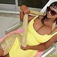 Mega Busty Ebony Marie Leone Fucked and Creamed - image