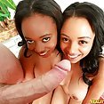 Anya Ivy Shares a Cock With a Friend - image