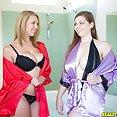 Brooke Wylde and Jessica Roberts Big Boob Fuck Time - image
