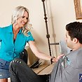 Horny Cougar Emma Starr Wants Younger Cock - image