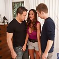 Stunning Cougar Gets Deep Double Penetration - image