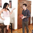 Stunning MILF Jessica Jaymes Orders Younger Cock - image