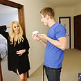 MILF Erica Goes to the Wrong Room Gets Fucked Anyway - image