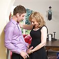 Nina Hartley Seduces Hung Young Guy - image