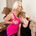 MILF Landlord Picks Her New Tenant By Size - image