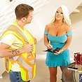 Stunning Alura Jensen Loves to Fuck Younger Guys - image