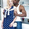 Scarlet Red Loves Big Black Dick - image