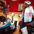 Britney and Yuri Ski Trip Threesome - image