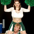 Christy Marks Busty Cheerleader - image