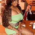 Big Tits Ebony Babe Candace Von - image