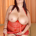 Angelina Vallem Chubby and Horny - image