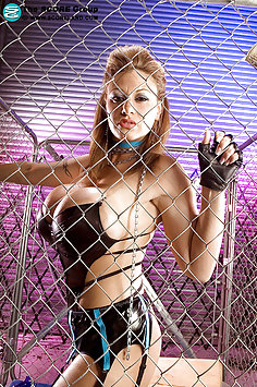 Crystal Caged and out of Control