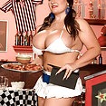 Sports Bar Girl With Massive Hooters - image