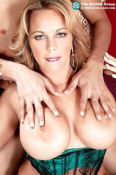 Busty MILF Felt Up and Fucked