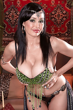 Busty Belly Dancer