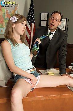 Sara Peters Seducing the Principal