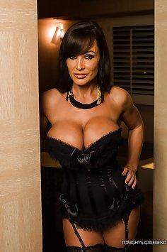 Super Hot Lisa Ann Lingerie PSE Session