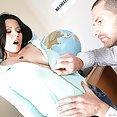 Busty Student Teacher Klaudia Hot - image