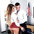 Horny Student August Ames Gets Some - image