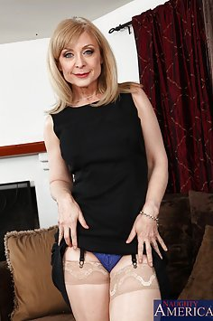 Nina Hartley Gets a Hard Fucking