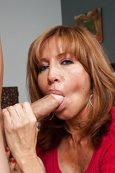 Smoking Hot MILF versus Younger Cock