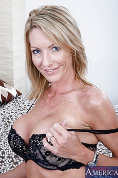 Hot MILF Wants Son's Friend In Her Ass