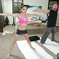 Evilyn Fierce Yoga Fuck and Facial - image